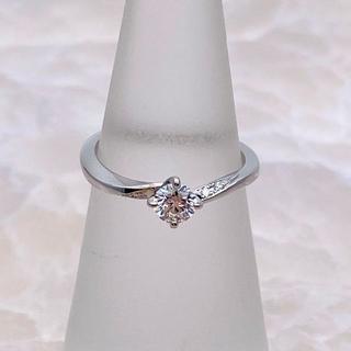 ニワカ(俄)の★NIWAKA★ 俄 露華 ダイヤモンドリング 婚約指輪 0.235ct(リング(指輪))