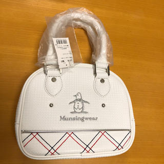 マンシングウェア(Munsingwear)の【新品】(マンシングウェア) ポーチ LQ7178 N921(ホワイト)(バッグ)