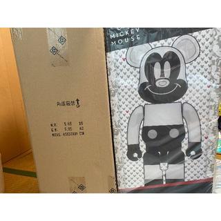 メディコムトイ(MEDICOM TOY)のBE@RBRICK fragment MICKEY MOUSE ベアブリック(ぬいぐるみ/人形)