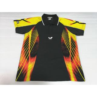 バタフライ(BUTTERFLY)のバタフライ 半袖ドライポロシャツ Butterfly JTTA 卓球ウェア(卓球)