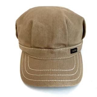 ディーゼル(DIESEL)のディーゼル 帽子美品  ライトブラウン(その他)