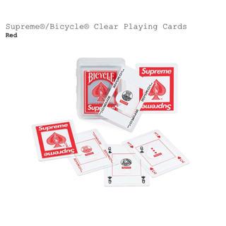 シュプリーム(Supreme)のSupreme Bicycle® Clear Playing Cards(その他)