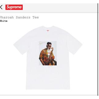 シュプリーム(Supreme)のL Supreme Pharoah Sanders Tee White (Tシャツ/カットソー(半袖/袖なし))