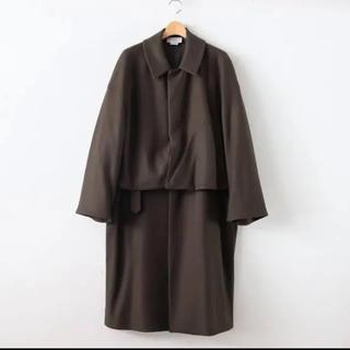 サンシー(SUNSEA)のyoke 3way bal collar share coat (ステンカラーコート)