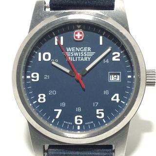 ウェンガー(Wenger)のウェンガー 腕時計 7291X メンズ ネイビー(その他)