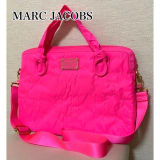 マークバイマークジェイコブス(MARC BY MARC JACOBS)のMARC BY MARC JACOBS ☆ 新品未使用 PC バッグ ピンク(ショルダーバッグ)