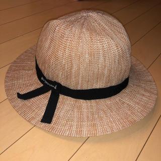 アンパサンド(ampersand)のキッズ.美品.52cm麦わら帽子 ストローハットAmpersandアンパサンド(帽子)