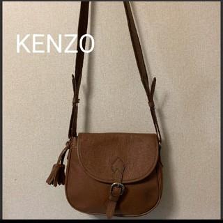 ケンゾー(KENZO)のケンゾー KENZO レザーショルダーバッグ (ショルダーバッグ)