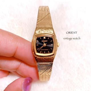 オリエント(ORIENT)の【ORIENT】ヴィンテージ 腕時計 稼働品 美品 オリエント vintage(腕時計)
