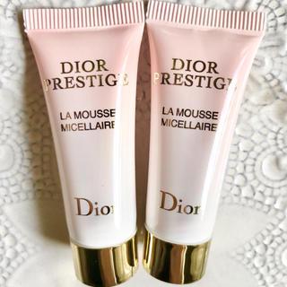 ディオール(Dior)の【お試し20g✦1742円分】プレステージ ラムース クレンジングフォーム 洗顔(クレンジング/メイク落とし)