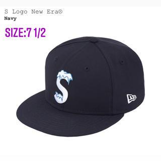 シュプリーム(Supreme)のTKさん専用_S Logo New Era® 7 1/2 Navy(キャップ)