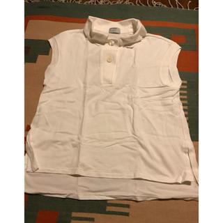 マーガレットハウエル(MARGARET HOWELL)のお値下げ中 マーガレットハウエル 白ポロシャツ(ポロシャツ)