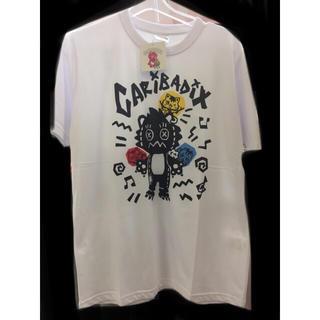 サンリオ(サンリオ)の新品 3色 カリバディクス Tシャツ メンズ がおっきー rock モー娘。(Tシャツ/カットソー(半袖/袖なし))