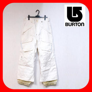 バートン(BURTON)のBurton バートン ♥︎ スノボ ウェア パンツ ホワイト メンズM(ウエア/装備)