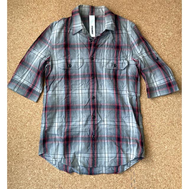 ATTACHIMENT(アタッチメント)のアタッチメント ATTACHMENT チェックシャツ メンズのトップス(シャツ)の商品写真