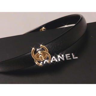 シャネル(CHANEL)の非売品 CHANEL レザー カチューシャ(ヘアバンド)