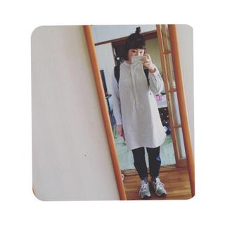 ムジルシリョウヒン(MUJI (無印良品))の水色×白ストライプワンピース(ひざ丈ワンピース)