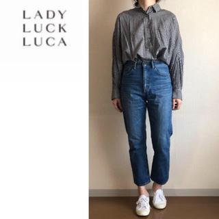 ルカ(LUCA)のLUCA☆ギンガムチェック ドルマンシャツ☆ブラウス(シャツ/ブラウス(長袖/七分))