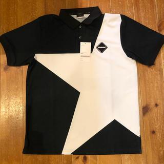 エフシーアールビー(F.C.R.B.)のFCRB  BIG STAR POLO 紺 L(ポロシャツ)