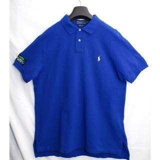 ポロラルフローレン(POLO RALPH LAUREN)の[激レア] ラルフローレン テニス USOPENモデル限定 青 ポロシャツ XL(ウェア)