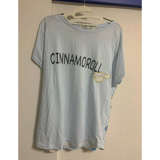 シナモロール(シナモロール)のシナモロール シナモン Tシャツ サンリオ男子 4L(Tシャツ(半袖/袖なし))