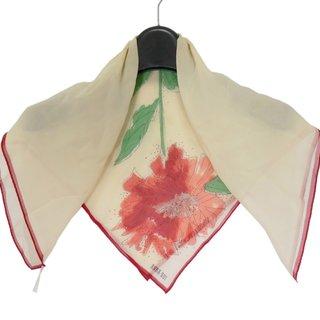 アナスイ(ANNA SUI)のアナスイ スカーフ アイボリー×レッド(バンダナ/スカーフ)