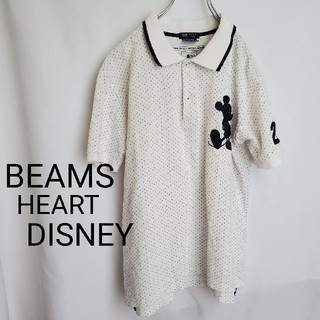ビームス(BEAMS)のこじこじ様 ビームスハート ミッキー ゴルフ ポロシャツ(ポロシャツ)