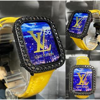 アップルウォッチ用カスタムダイヤカバーベルトセット(腕時計(デジタル))