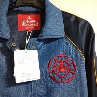 ヴィヴィアンウエストウッド(Vivienne Westwood)のレア☆ ヴィヴィアン デニム ジャケット オーブ刺繍(Gジャン/デニムジャケット)
