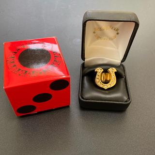 テンダーロイン(TENDERLOIN)のテンダーロイン ホースシューリング 金メッキ(リング(指輪))