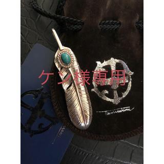 ゴローズ(goro's)の鷲見太郎 feather top・turquoise  30,800円(税込)(ネックレス)