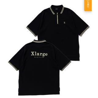 エクストララージ(XLARGE)のXLARGE S/S HALF ZIP BIG POLO SHIRT(ポロシャツ)