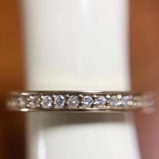 ダイヤモンドフルエタニティリング K18GP(リング(指輪))