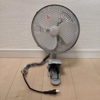 テクノス(TECHNOS)の18cmクリップ扇風機 CI-189(G)(扇風機)