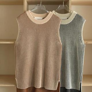 トゥデイフル(TODAYFUL)のTuck Stripe Vest(ベスト)