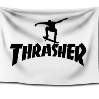 スラッシャー(THRASHER)の新品、未使用 スラッシャー THRASHER タペストリー フラッグ 1(スケートボード)