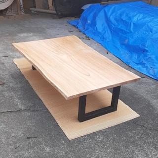 栴檀 一枚板 テーブル 特大(ローテーブル)