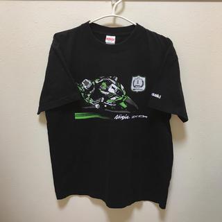 カワサキ(カワサキ)のKawasaki Ninja zx-10R バイク プリント 限定Tシャツ 半袖(Tシャツ/カットソー(半袖/袖なし))