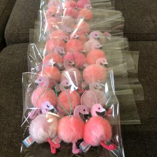 ふわふわフラミンゴ 3つセット ピンク色(キャラクターグッズ)
