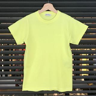 バレンシアガ(Balenciaga)の超美品 バレンシアガ 半袖Tシャツ 蛍光イエロー 19AW XS 刺繡(Tシャツ(半袖/袖なし))