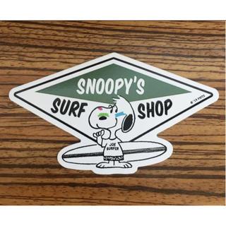 SNOOPY - ステッカー SNOOPY スヌーピー ハワイ サーフィン