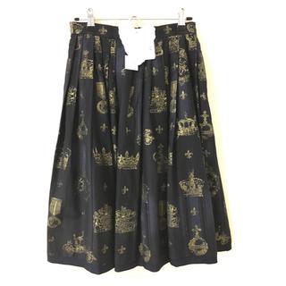 ジェーンマープル(JaneMarple)のジェーンマープル ロイヤルストライプ スカート(ひざ丈スカート)