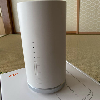 エーユー(au)のspeed wi-fi home/L01s(その他)