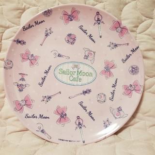 セーラームーン(セーラームーン)の美少女戦士 セーラームーンカフェ メラニンプレート ピンク(キャラクターグッズ)
