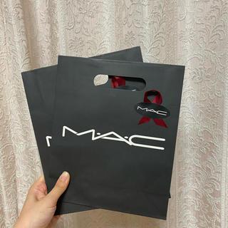 マック(MAC)のプレゼント仕様マックショッパー mac (ショップ袋)