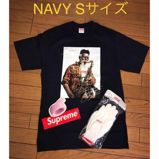 シュプリーム(Supreme)のPharoah Sanders Tee/ Supreme NAVY Sサイズ(Tシャツ/カットソー(半袖/袖なし))