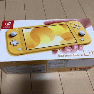 NINTENDO Switch lite 本体 イエロー(携帯用ゲーム機本体)