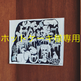 ミナペルホネン(mina perhonen)のミナペルホネン ポスター つづく展 life puzzles mina(その他)