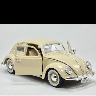フォルクスワーゲン(Volkswagen)の【新品】1/18 maisto beetle ミニカー ビートル (ミニカー)