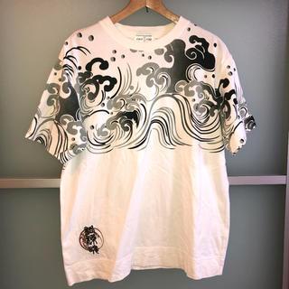 カラクリタマシイ(絡繰魂)の絡繰魂 Tシャツ ホワイト(Tシャツ/カットソー(半袖/袖なし))
